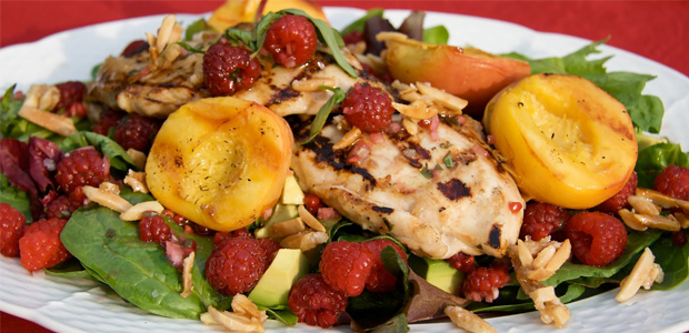 rasberry chicken-salad